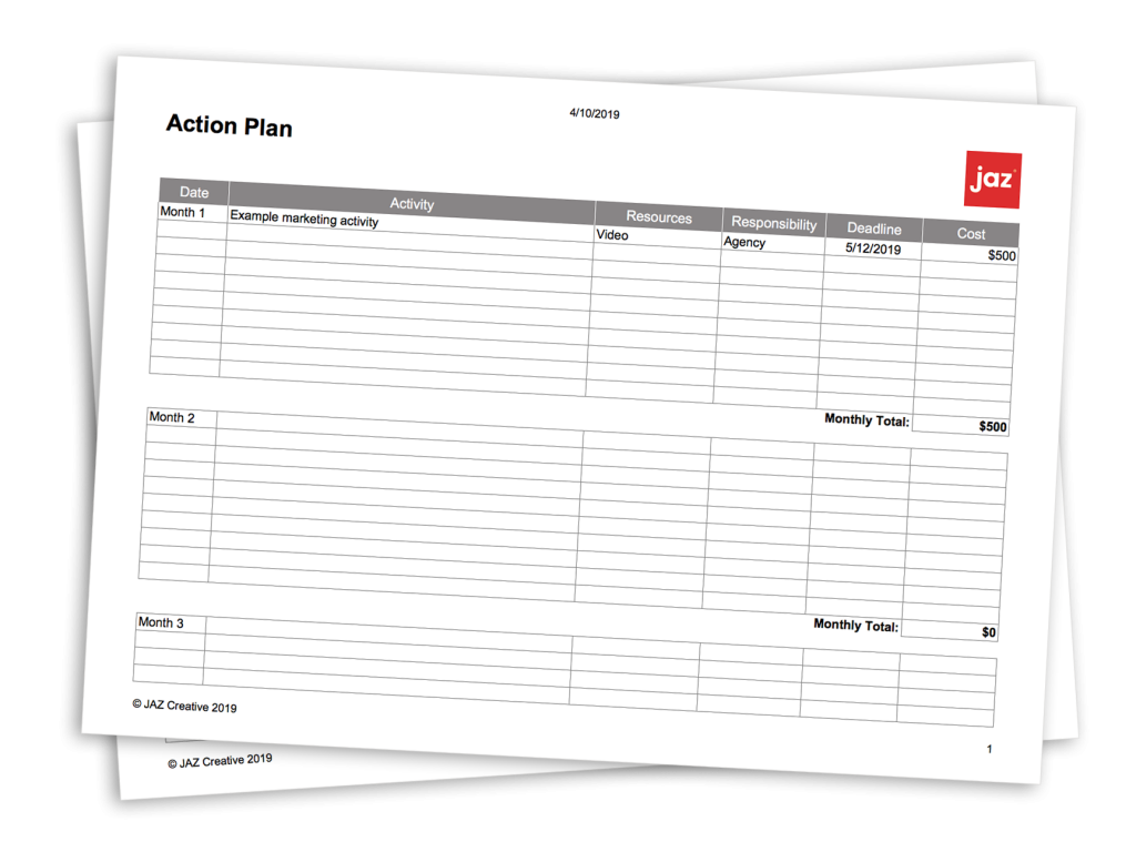 action plan tmeplate